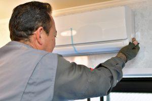 ガス浴室温暖房乾燥機の設置