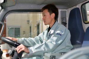 営業車の運転